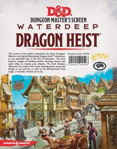 Screen Dungeons and Dragons: Waterdeep Dragon Heist - DM Screen