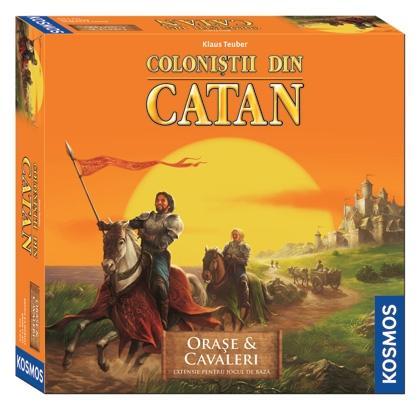 Colonistii din Catan: Orase si Cavaleri