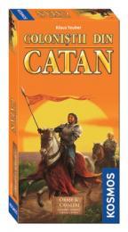 Colonistii din Catan: Orase si Cavaleri extensie pentru 5-6 jucatori