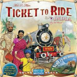 Ticket to Ride India Map Collection