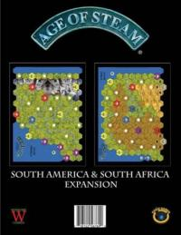 Age of Steam: South America & South Africa Expansion
