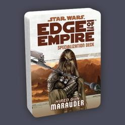 Star Wars Edge of The Empire: Marauder Specialization Deck