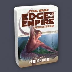 Star Wars Edge of the Empire: Performer Specialization Deck