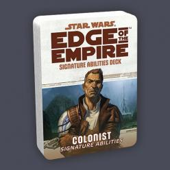 Star Wars Edge of the Empire: Colonist Specialization Deck