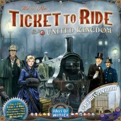 Ticket to Ride United Kingdom & Pennsylvania