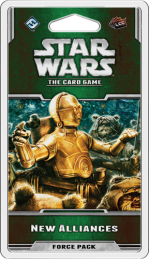 Star Wars The Card Game New Alliances Force Pack