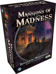 Mansions of Madness 2nd Recurring Nightmares Figure and Tile Collection