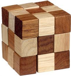 Puzzle logic din lemn Be Clever Cub