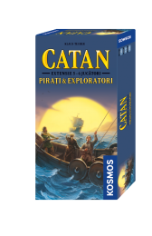 Catan: Pirati si Exploratori 5/6 jucatori