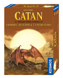 Catan: Comori, Dragoni si Exploratori