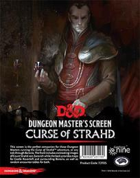 Dungeons and Dragons: Curse of Strahd - Dungeon Masters Screen