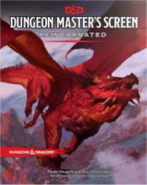 Dungeons and Dragons RPG - Dungeon Masters Screen Reincarnated