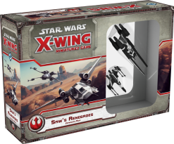 Star Wars: X-Wing Miniatures Game – Saws Renegades Expansion Pack