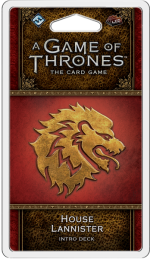 A Game of Thrones: The Card Game (Second Edition) – House Lannister Intro Deck