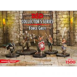 Dungeons and Dragons Collectors Series Miniatures - Force Grey