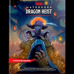 Dungeons and Dragons: Waterdeep Dragon Heist Book