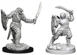 Dungeons and Dragons: Nolzurs Marvelous Unpainted Miniatures - Dragonborn Female Paladin