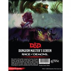 Dungeons and Dragons - Rage of Demons: DM Screen
