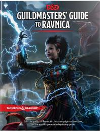 Dungeons and Dragons - Guildmasters Guide to Ravnica RPG Book