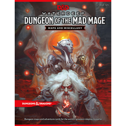 Dungeons and Dragons RPG - Dungeon of the Mad Mage Maps and Miscellany