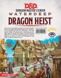 Dungeons and Dragons: Waterdeep Dragon Heist - DM Screen