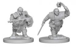 Dungeons and Dragons: Nolzurs Marvelous Unpainted Miniatures - Dwarf Female Fighter