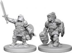 Dungeons and Dragons: Nolzurs Marvelous Unpainted Miniatures - Dwarf Female Paladin