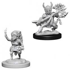 Dungeons and Dragons: Nolzurs Marvelous Miniatures: Female Halfing Fighter