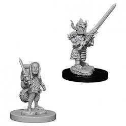 Dungeons and Dragons - Nolzurs Marvelous Miniatures: Male Halfling Fighter