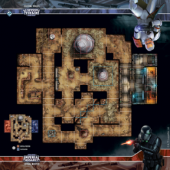 Star Wars: Imperial Assault Lothal Wastes Skirmish Map