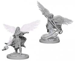 Dungeons and Dragons: Nolzurs Marvelous Unpainted Miniatures - Aasimar Female Wizard
