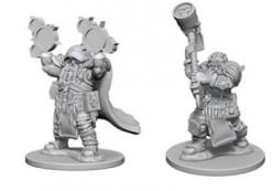 Dungeons and Dragons: Nolzurs Marvelous Unpainted Miniatures - Dwarf Male Cleric