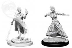 Dungeons and Dragons: Nolzurs Marvelous Unpainted Miniatures -  Fire Genasi Female Wizard