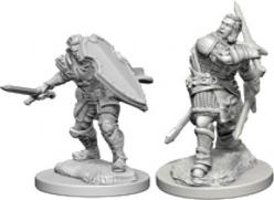 Dungeons and Dragons: Nolzurs Marvelous Unpainted Miniatures - Human Male Paladin