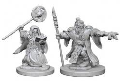Dungeons and Dragons: Nolzurs Marvelous Unpainted Miniatures - Dwarf Male Wizard