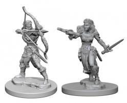 Dungeons and Dragons: Nolzurs Marvelous Unpainted Miniatures - Elf Female Ranger