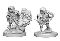 Dungeons and Dragons: Nolzurs Marvelous Unpainted Miniatures - Halfling Male Rogue