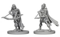 Dungeons and Dragons: Nolzurs Marvelous Unpainted Miniatures - Human Female Ranger