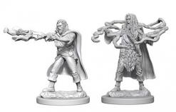 Dungeons and Dragons: Nolzurs Marvelous Unpainted Miniatures - Human Male Sorcerer