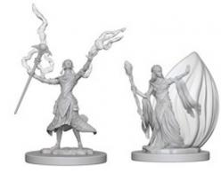 Dungeons and Dragons: Nolzurs Marvelous Unpainted Miniatures - Elf Female Wizard