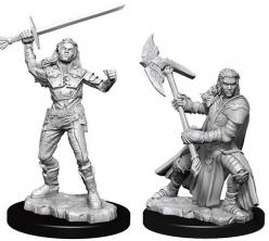 Dungeons and Dragons: Nolzurs Marvelous Unpainted Miniatures - Female Half-Orc Fighter