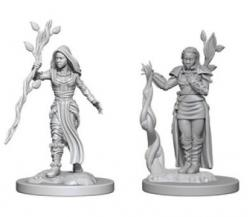 Dungeons and Dragons: Nolzurs Marvelous Unpainted Miniatures - Human Female Druid