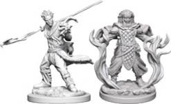 Dungeons and Dragons: Nolzurs Marvelous Unpainted Miniatures - Human Male Druid