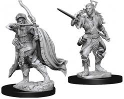 Dungeons and Dragons: Nolzurs Marvelous Unpainted Miniatures - Male Elf Rogue