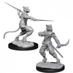 Dungeons and Dragons: Nolzurs Marvelous Unpainted Miniatures - Male Tabaxi Rogue