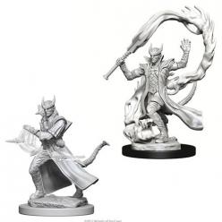 Dungeons and Dragons: Nolzurs Marvelous Unpainted Miniatures - Tiefling Male Sorcerer