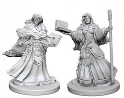 Dungeons and Dragons: Nolzurs Marvelous Unpainted Miniatures - Human Female Wizard