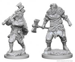 Dungeons and Dragons: Nolzurs Marvelous Unpainted Miniatures - Human Male Barbarian