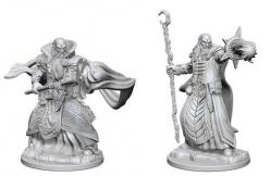 Dungeons and Dragons: Nolzurs Marvelous Unpainted Miniatures - Human Male Wizard