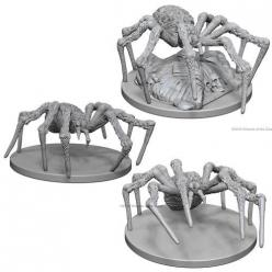 Dungeons and Dragons: Nolzurs Marvelous Unpainted Miniatures - Spiders